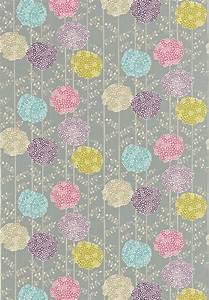 Orsina (120125) - Harlequin Fabrics - Large pompom flower ...