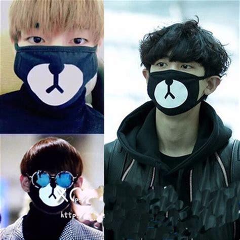 kpop bts  bear face mask mouth face muffle bangtan boys
