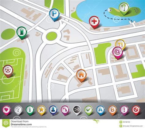 vector design  map illustration  map pointe royalty