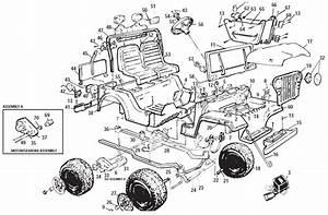 Power Wheels Jeep Laredo Parts