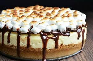 S'Mores Cheesecake Recipe — Dishmaps