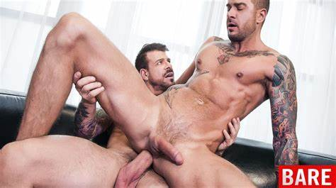 Roccos Bals In A Spacy Lips rocco steele breeds dolf dietrich
