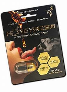 New Organic Honeygizer All Natural Male Enhancement Pills  3  3 - Pack