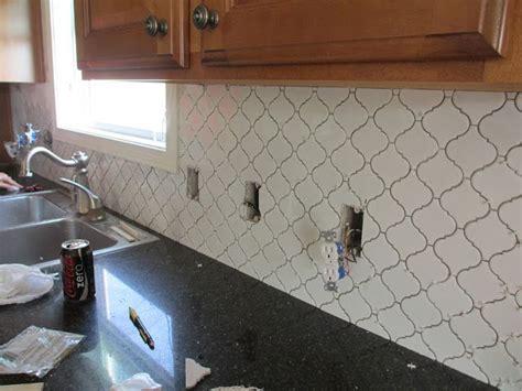 moroccan tile kitchen backsplash 35 best arabesque moroccan tile images on pinterest
