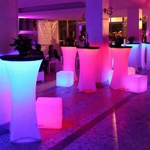 Meuble Mange Debout : location mange debout lumineux en ile de france ~ Teatrodelosmanantiales.com Idées de Décoration