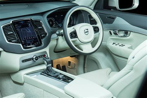 volvo xc90 interior new volvo xc90 lands in australia d5 t6 t8 available