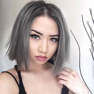 Haare Grau Frben Ein Trend Mit Hohem Preis