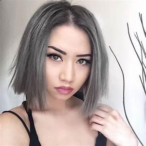 Haarfarbe Schwarz Grau : haare grau f rben ein trend mit hohem preis ~ Frokenaadalensverden.com Haus und Dekorationen