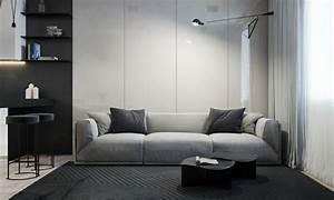 avec quelle couleur associer le gris With tapis moderne avec donner canapé association