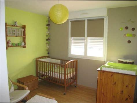 chambre vert anis chambre fille chambre bebe vert anis et marron