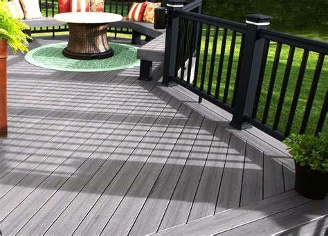 gray deck ideas  pinterest patio candle