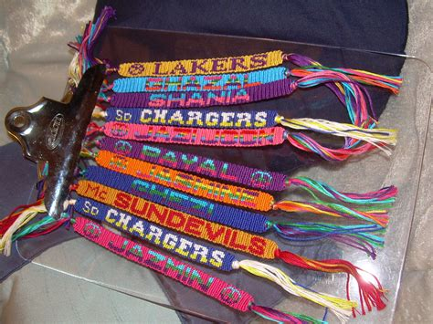 Ordered Friendship Bracelets Friendship Bracelets