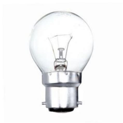 40 watt incandescent bulb 40 watt bc b22mm clear incandescent golfball light bulb 3907
