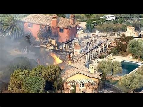 0102017 Napa Valley Winery Fire Burns To Ground Morni