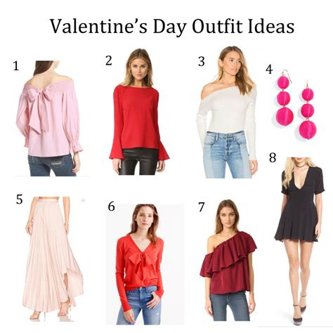 Valentines Day Outfit Ideas Valentine S Day Outfit Ideas Under 200 Nicole To The Nines