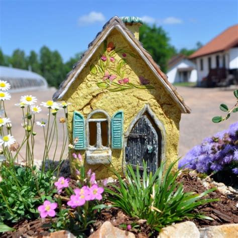Fairy Garden Resin Furniture Set  Fresh Garden Decor
