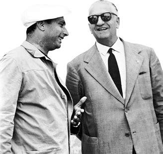 juan manuel fangio and enzo f1 1956 formula 1 racing f1