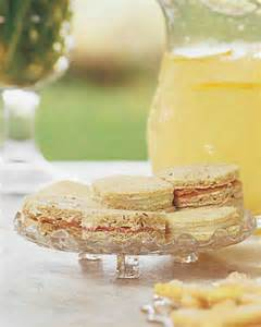 Tea Sandwiches Martha Stewart