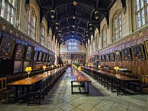 Stephen Elliott Photography: Christ Church Dining Hall