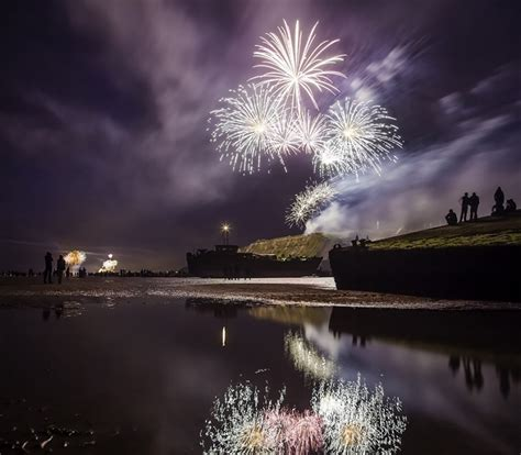 feu d artifice mont michel d day festival normandy 2017 normandie tourisme