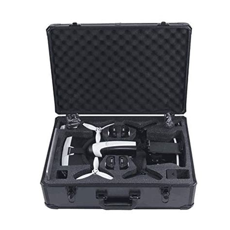 hul aluminum carrying case  parrot bebop  fpv  skycontroller   vr goggles pickrightly