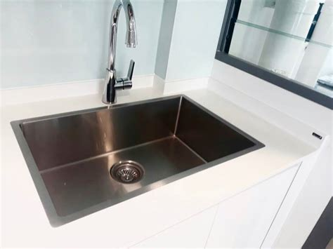 flush mount kitchen sinks hachi flush mount sink house of countertops 3498