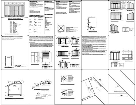 8x12 shed plans materials list instant get 12x16 shed plans with material list shed build