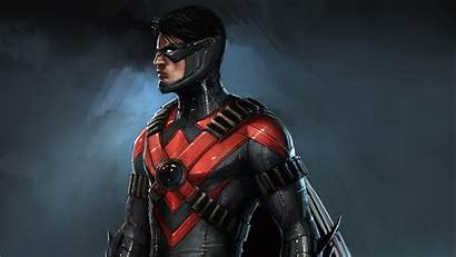 Injustice Nightwing Wallpapers Games 4k Published January