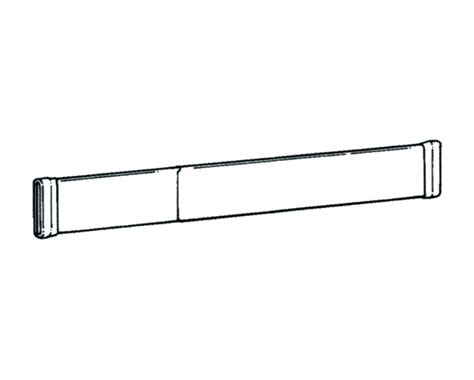 Graber Curtain Rod Hardware by Graber 33 50 Inch Tension Dauphine Rod 2 1 2 Inch
