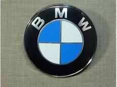 Emblema Símbolo Logo Bmw Capô Portamalas 82mm