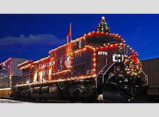 CP Holiday Train keeps on chugging despite frigid