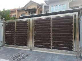 stainless steel gate aluminium automatic gate auto gate design