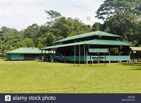 sirena ranger station corcovado national park costa rica stock photo royalty free image