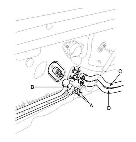 Hyundai Santum Fe 2001 Engine Diagram Air by Repair Guides Temperature Actuator Removal