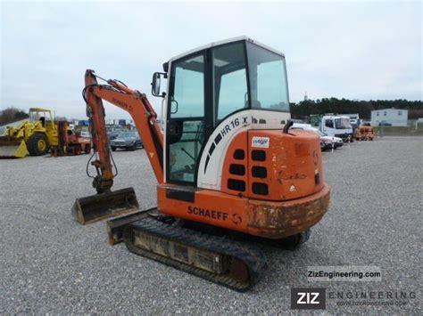schaeff hr  mini excavator quick coupler knickmatik  minikompact digger construction