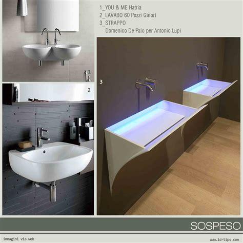 lavelli per bagno sospesi lavabo le diverse tipologie