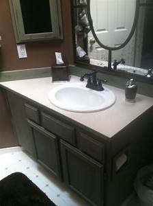 kelley from elegant details in mill creek purchased With chalk paint in bathroom