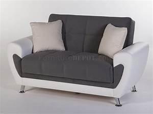 duru plato dark grey sofa bed set convertible sunset w With sofa bed options