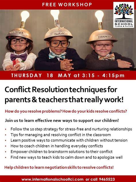 conflict resolution workshop international school 631 | Conflict Resolution Workshop 18 May