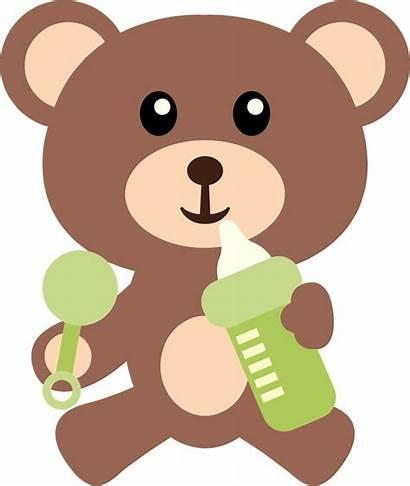 Bear Clipart Shower Teddy Clip Bears Boy