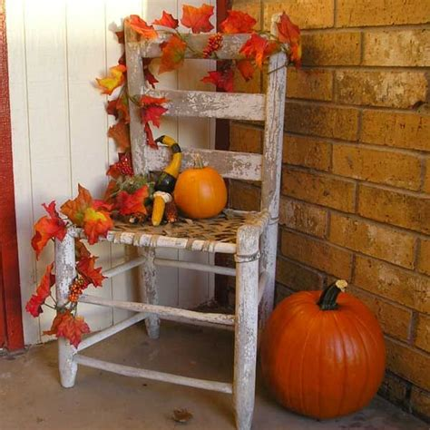Porch Fall Decorationslove The Simplicity Of This
