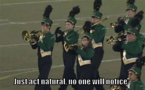 act natural    notice  act natural