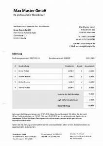 Rechnung Verzug : mahnung schreiben vorlage und online erstellen ~ Themetempest.com Abrechnung