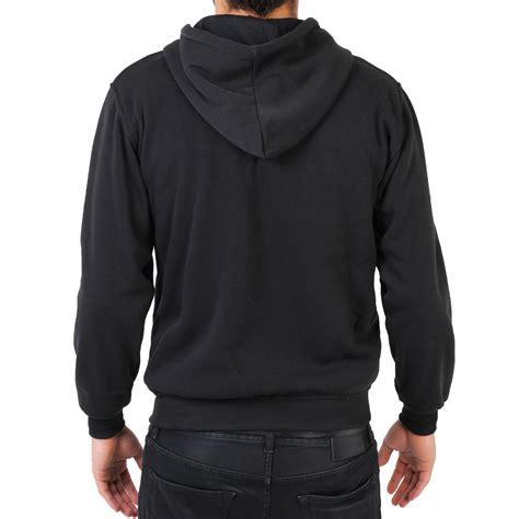 plain fleece warm hoodie hooded sport sweatshirt top