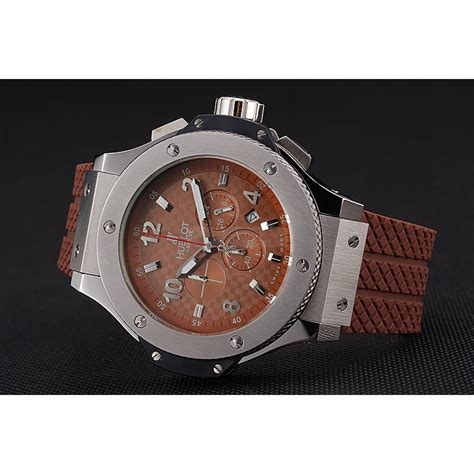Hublot Bigbang Black Brown hublot big king cappuccino brown hublot