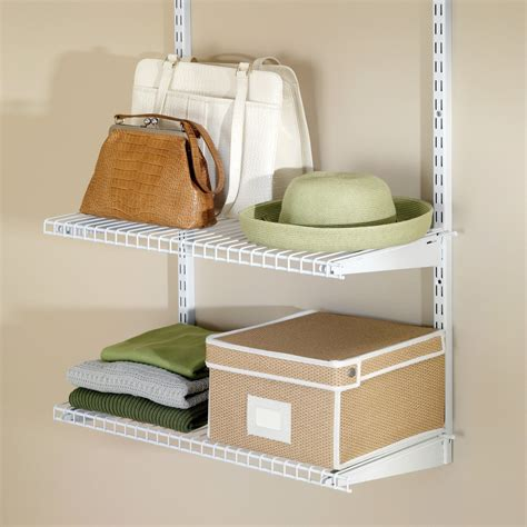 Stylish Ware Shelving Ideas With Rubbermaid Configurations