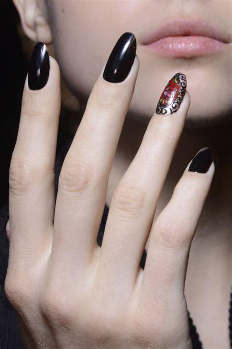 manicure trendy jesien zima  lamode