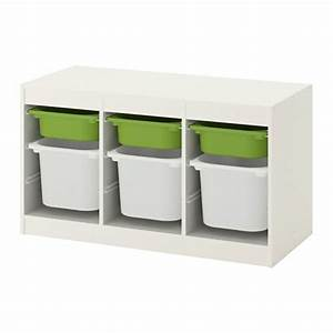 Ikea Trofast Gebraucht : trofast storage combination with boxes white green ikea ~ Buech-reservation.com Haus und Dekorationen