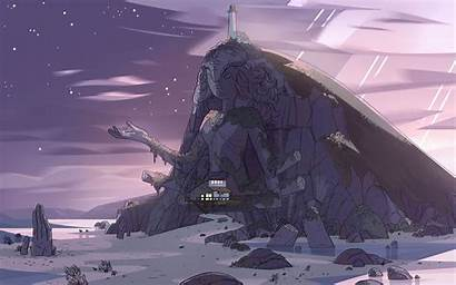 Steven Universe Backgrounds Temple Crystal Gems Gem