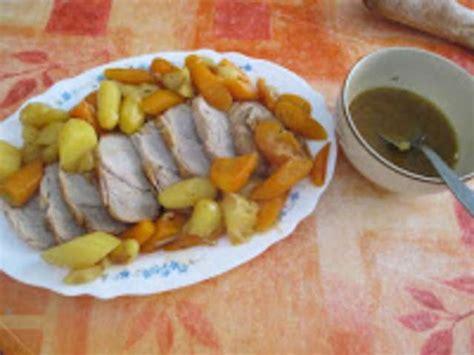 cuisine roti de veau recettes de rôti de veau et carottes